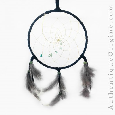 Dreamcatcher 6 '' black and green # au0571-11