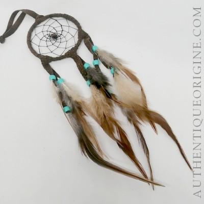 Brown dream catcher 3''