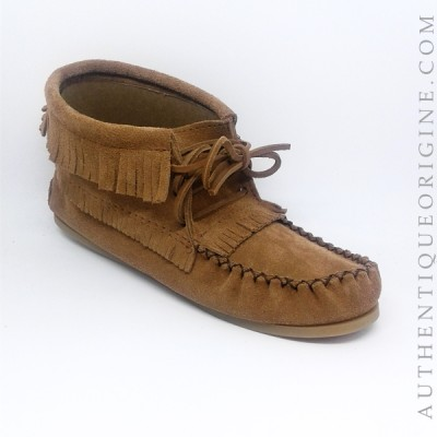 moccasin woman fringes #734029MO