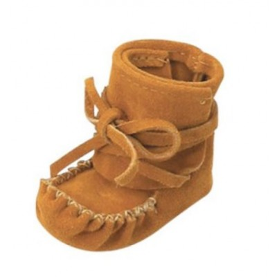suede baby moccasin