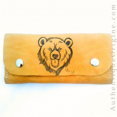 Wallet and cell # au0014-02
